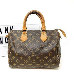 Louis Vuitton Speedy 25 Monogram Satchel Bag
